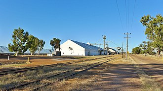 Narembeen, Western Australia - Narembeen grain receival point, 2014