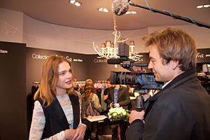 Natalia Vodianova - Vodianova in her Etam collection launch
