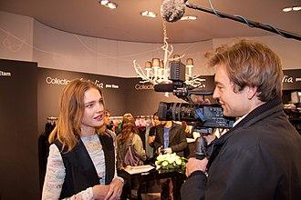 Natalia Vodianova - Vodianova in her Etam collection launch