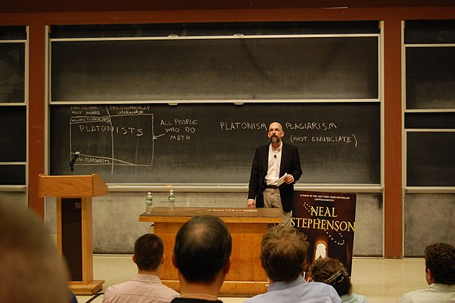 Neal_Stephenson Anathem Discussion at MIT