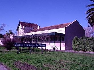 Necochea - Former train station, currently an arts school
