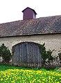 Nedvězí, Únorová, stodola čp. 11, vrata.jpg
