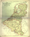 Netherlands and Belgium map from American Cyclopaedia.png