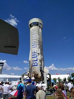 New Shepard Rocket developed by Blue Origin