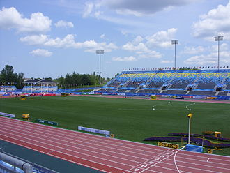 2010 World Junior Championships in Athletics - The New Moncton Stadium was built specifically to host the championships