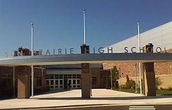New Sun Prairie Senior High School Entrance