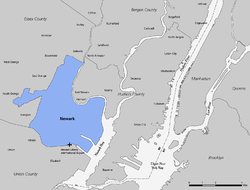 Newark-Area-Map
