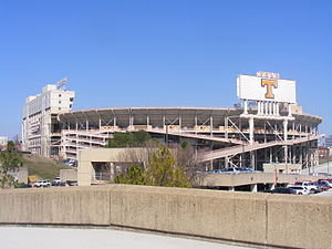 English: Neyland Stadium, Knoxville, Tennessee.