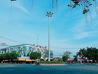 Tan Thanh (town) - Image: Nga Nam Tan Thanh