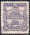 Nicaragua 1890 Sc25u.jpg