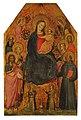 Niccolò di Tommaso - Virgen y Niño rodeados de santos y ángeles.jpg
