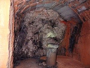 Rove Tunnel - Image: Niche d'amarrage creusée sur les bas côtés du tunnel du Rove