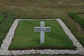 Nick Joaquin - Nick Joaquin is interred at the Libingan ng mga Bayani.