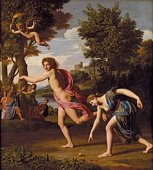 Apple (symbolism) - Atalanta and Hippomenes by Nicolas Colombel