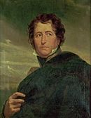 Portrait of Marshal Soult in a cloak