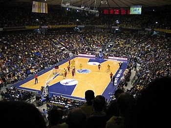 Partido entre el Maccabi Tel Aviv y el Winterthur FC Barcelona en el Nokia Arena