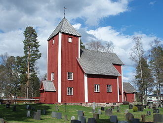 Åmot - Nordre Osen old Church