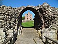 Norham Castle through gateway.jpg