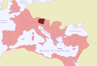 Noricum - Roman province of Noricum highlighted