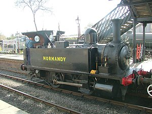 LSWR B4 class - Preserved Normandy on the Bluebell Railway.