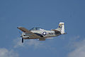 North American T-28C Trojan Sherry Berry Third Pass 01 TICO 13March2010 (14413088857).jpg