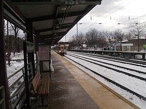 North Elizabeth station - North Elizabeth station looking southwest