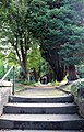 Northern path to St Andrew's Church, Bebington 2.jpg