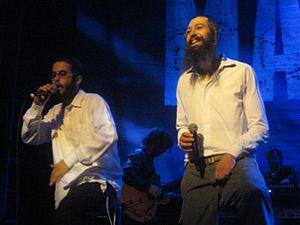 Jewish hip hop - Hasidic rappers Matisyahu and Nosson Zand.
