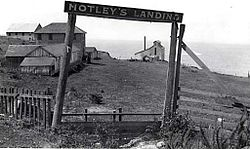 Notleys Landing, Big Sur. in 1914