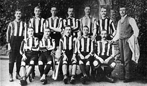 Notts County F.C. - The team that won the 1894 FA Cup