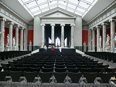 No. 7 chairs in the auditorium of the Ny Carlsberg Glyptotek in Copenhagen Ny Carlsberg Glyptothek - Auditorium 2.jpg