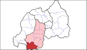 Nyaruguru District - Image: Nyaruguru Dist