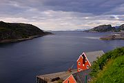 Nyholmsundet in the entrance to Bodø from north.jpg