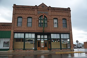 National Register of Historic Places listings in Lyon County, Minnesota - Image: O. G. Anderson & Co. Store in Minneota, Minnesota