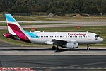 OE-LYU Airbus A319-100 Eurowings Europe DUS 2018-09-01 (2a) (31033769878).jpg