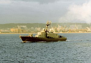 Tarantul-class corvette - ORP ''Rolnik'', a Polish Navy missile Tarantul-class corvette