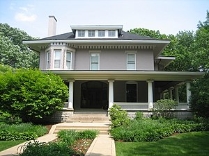 William H. Copeland House - Image: Oak Park Il Copeland House 1