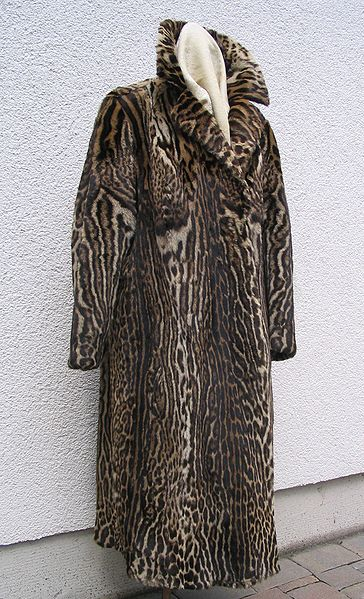 Datei:Ocelot fur coat, frontside.JPG
