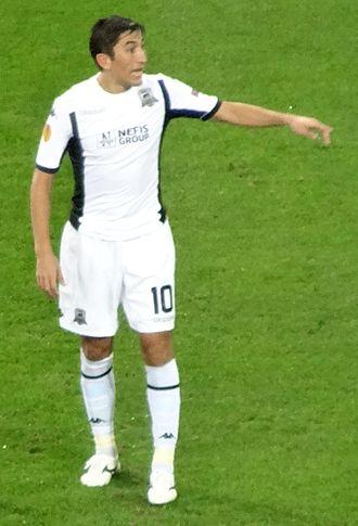 Odil Ahmedov - Ahmedov playing for FC Krasnodar in September 2014