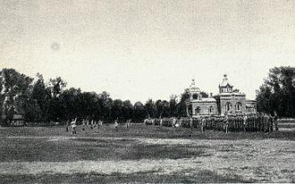 Oath crisis - Image: Odmowa złożenia przysięgi w 1 pułku ułanów, 1917