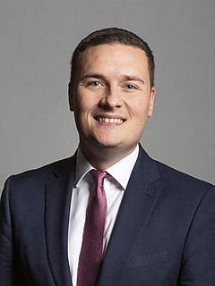 Wes Streeting British Labour politician