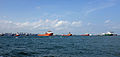 Offshore ships South of Singapore (14730265498).jpg