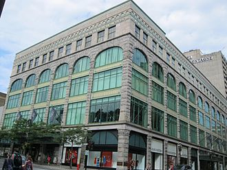 Ogilvy (department store) - Ogilvy seen in August 2012.