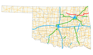 Oklahoma State Highway 20 highway in Oklahoma