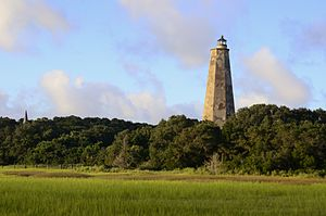 Bald Head Island, North Carolina - Old Baldy Lighthouse