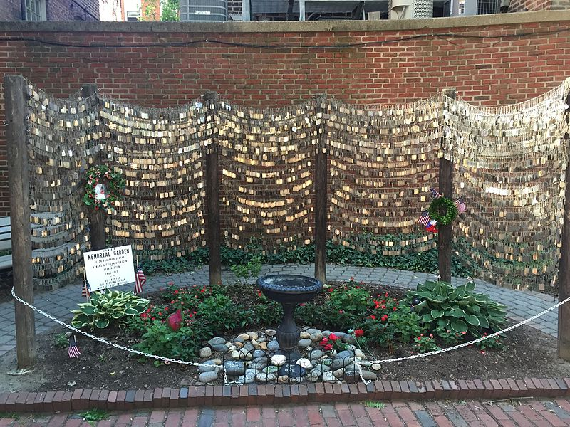 File:Old North Church Dog Tag Memorial.jpg