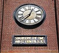 Old Saint Mary's Cathedral bell tower clock.JPG