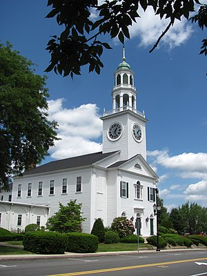 Common Historic District (Reading, Massachusetts) - Old South United Methodist Church