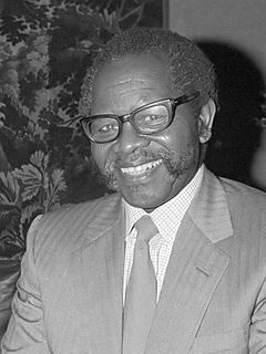 Oliver Tambo South African anti-apartheid activist and politician