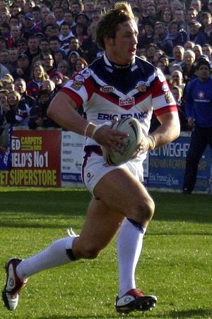Oliver Wilkes - Wilkes in action for Wakefield Trinity